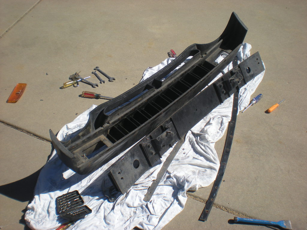 disassembled front bumper1